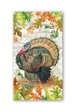 Fall Harvest Turkey Hostess Napkin