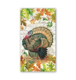 Fall Harvest Turkey Hostess Napkin
