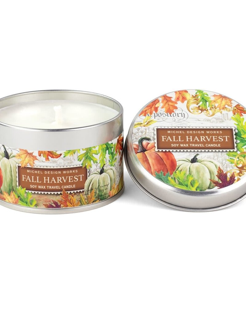 Fall Harvest Travel Candle