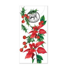 Poinsettia Pocket Tissues