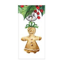 Gingerbread Woman Pocket Tissues