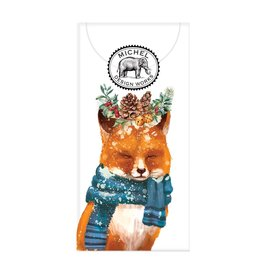 Christmas Fox Pocket Tissues