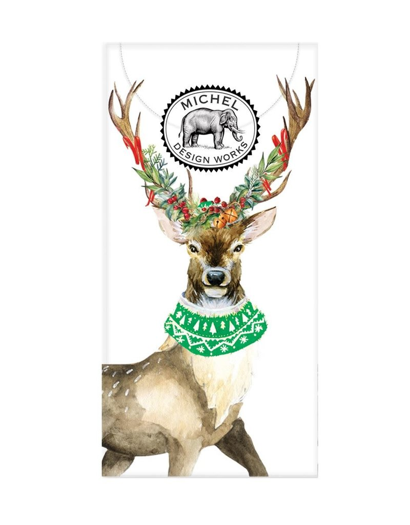 Christmas Deer Pocket Tissues