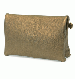 Joy Susan Joy Susan New Kate Crossbody Clutch Metallic Olive