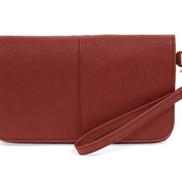 Joy Susan Joy Susan Mia Multi Pocket Crossbody Clutch Ruby