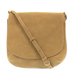 Joy Susan Joy Susan Jackie Large Flap Sueded Medium Crossbody Khaki