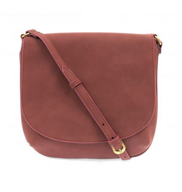 Joy Susan Joy Susan Jackie Large Flap Sueded Medium Crossbody Brick