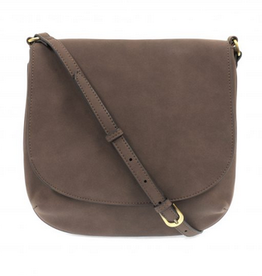 Joy Susan Joy Susan Jackie Large Flap Sueded Medium Crossbody Mocha