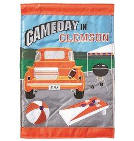 Gameday in Clemson Garden Flag