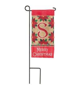 Mini Merry Christmas Monogram S