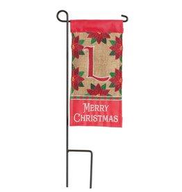 Mini Merry Christmas Monogram L