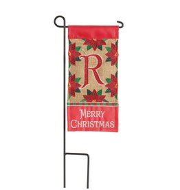 Mini Merry Christmas Monogram R