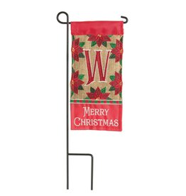 Mini Merry Christmas Monogram W