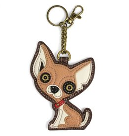 Chala Pal Key Fob/Coin Purse Chihuahua