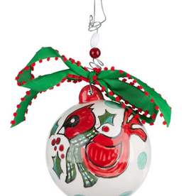 Hearts Come Home For Christmas Ornament