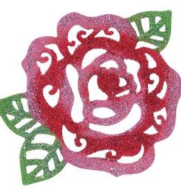 Red Rose Patio/Screen Decor