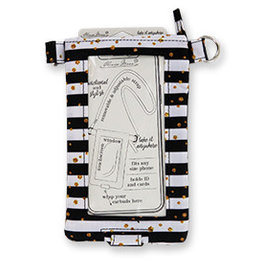 Crossbody Phone Bag - Seeing Stripes