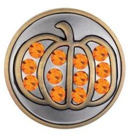Gingersnap Brass Pumpkin Regular Snap