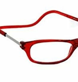 Clic Reading Glasses Red 3.00