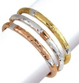 Bracelet- Hammered Assort.