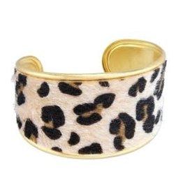 Bracelet-Beige Animal Print
