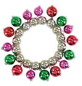 Bracelet-Colorful Christmass Beads