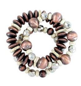 Bracelet-Layers Of Artisan Beads