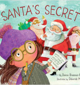 Sleeping Bear Press Santa's Secret Hardcover Book