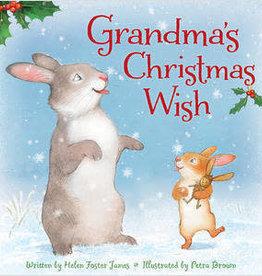 Sleeping Bear Press Grandma's Christmas Wish Hardcover Book