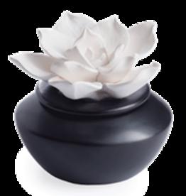 Porcelain Aroma Diffusers Gardenia w/15 mL Peppermint