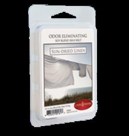 2.5oz Odor Eliminating Wax Melt Sun-Dried Linen