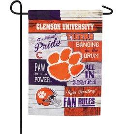Fan Rules Clemson University Garden Flag