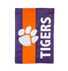 Clemson University Embellished Garden Flag