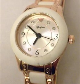 Baby Brooklyn Watch White/Rose Gold