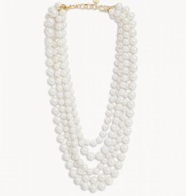Spartina Estate Layered Pearl Necklace 18""