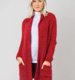 Holiday Cardigan L/XL Red