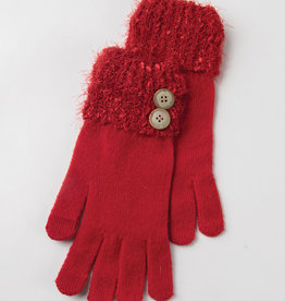 Holiday Gloves Red
