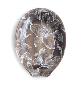 Lilies Oval Spoon Rest