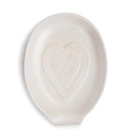 Heart Oval Spoon Rest