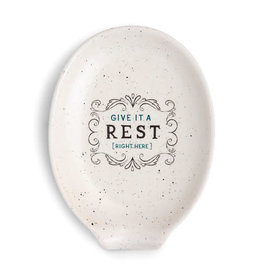 Give It A Rest Oval Spoon Rest