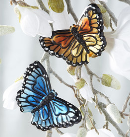 "RAZ Imports EC 5"" Clip-On Butterfly Ornament eaches"