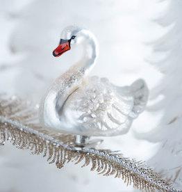 "RAZ Imports EC 4"" Clip-On Swan Ornament"
