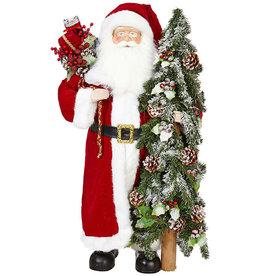 """RAZ Imports 38"""" Santa"""
