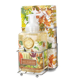 Fall Harvest Foaming Soap Napkin Set