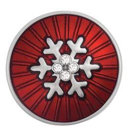 Gingersnap Red Radius Snowflake Regular Snap