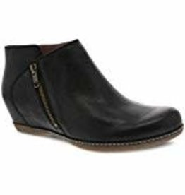 Dansko Leyla Black Burnished Nubuck 37