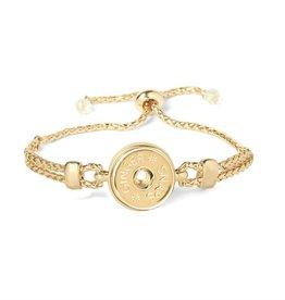 Gingersnap Regular Bracelet  - Rubber Stopper Gold