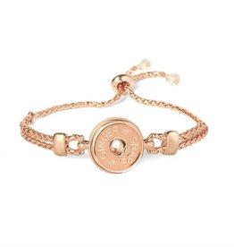 Gingersnap Regular Bracelet - Rubber Stopper Rose Gold