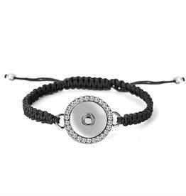 Gingersnap Regular Bracelet - Bling Snap Woven Adjustable