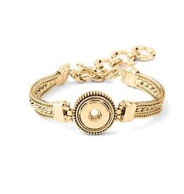 Gingersnap Petite Bracelet - Multi Chain Bracelet Gold
